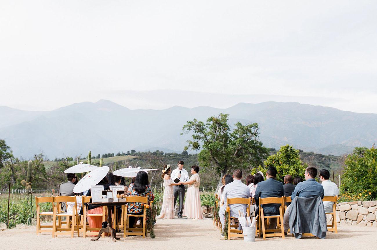 Indie Inspired Ojai Wedding