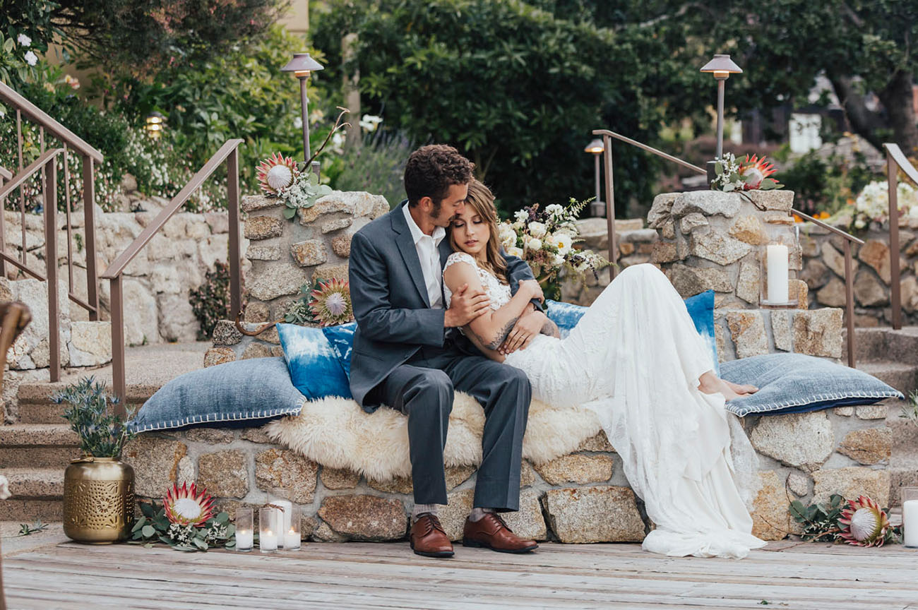 Indigo Boho Lux Wedding Inspiration