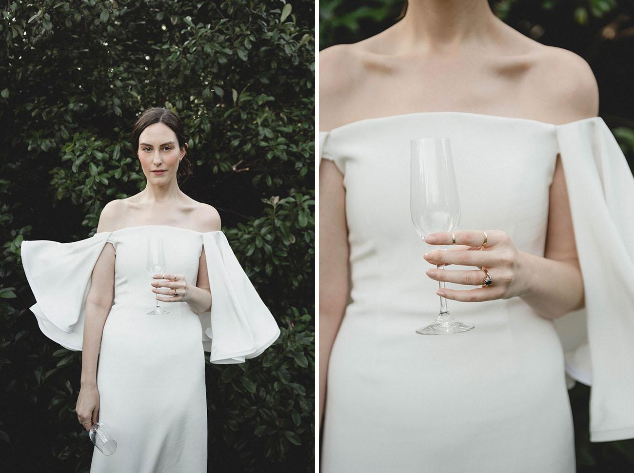Vows Wedding Dresses 79 Elegant Minimalist Modern Vow Renewal