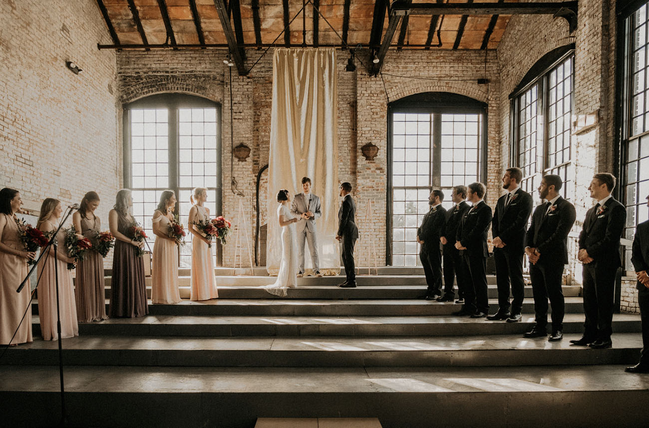 Geometric Hudson New York Wedding