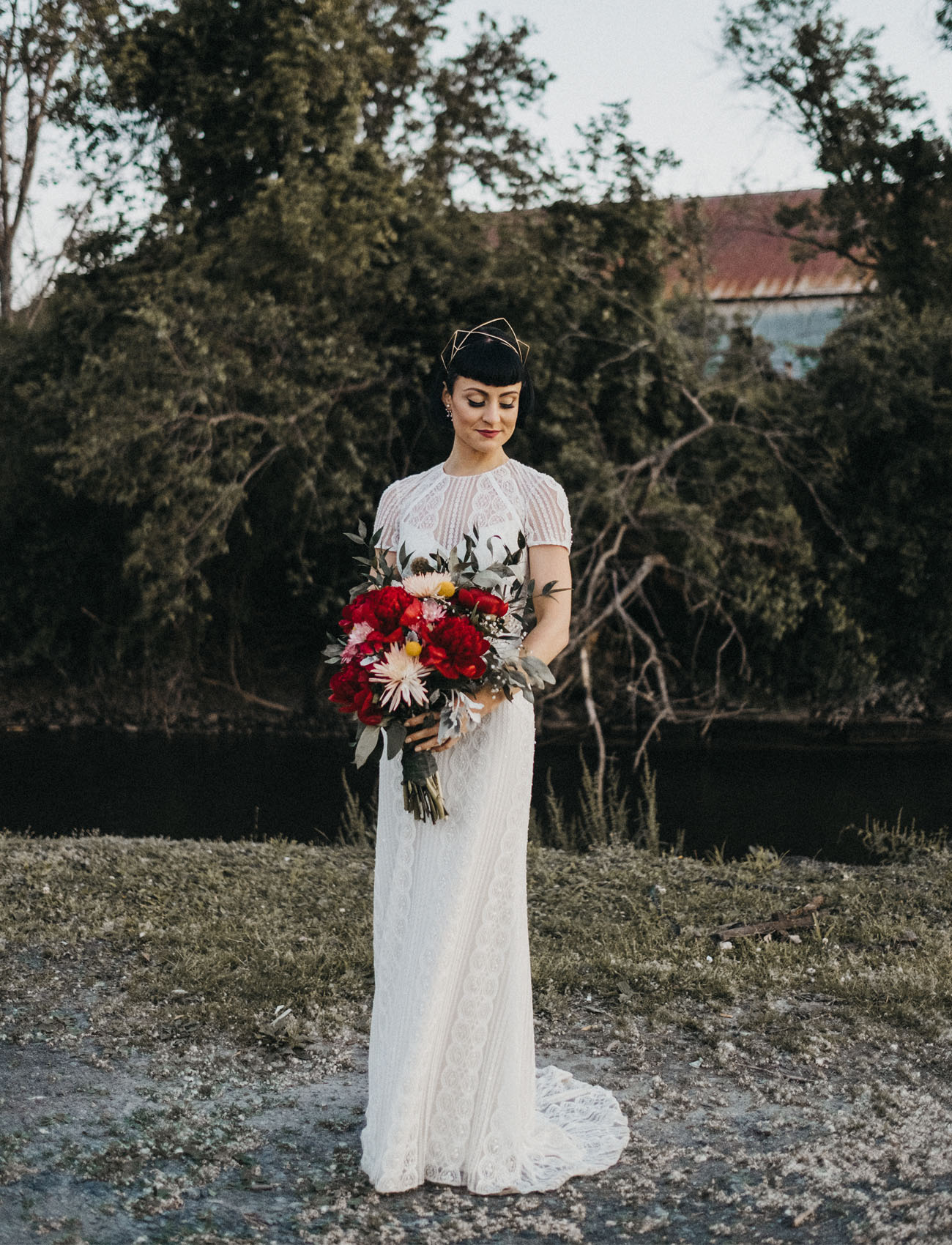 BHLDN wedding dress