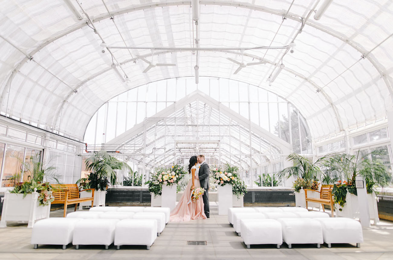Modern Romance Wedding Inspiration