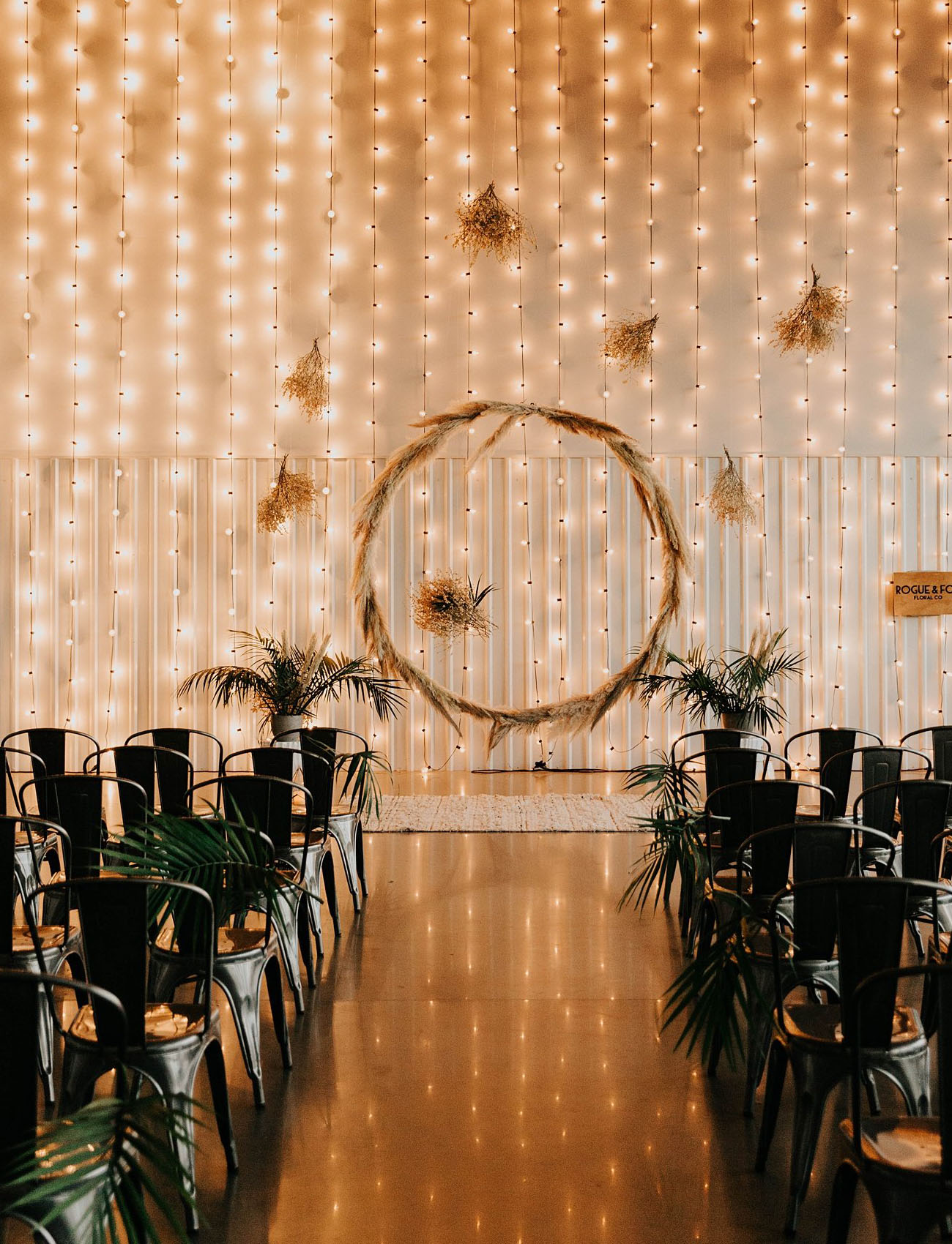 string light ceremony