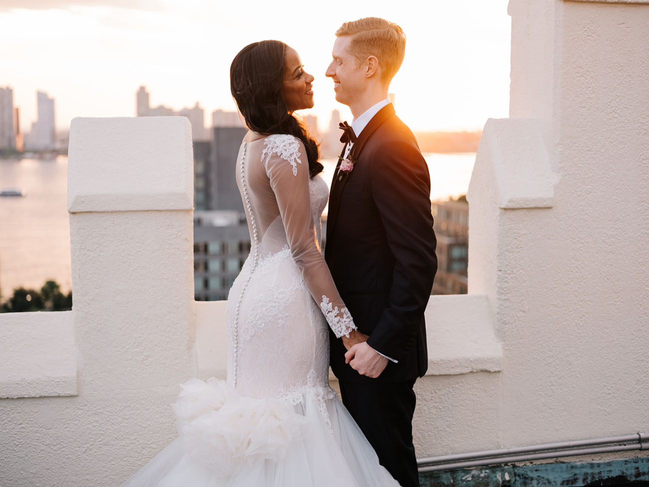 Rooftop NYC Summer Wedding