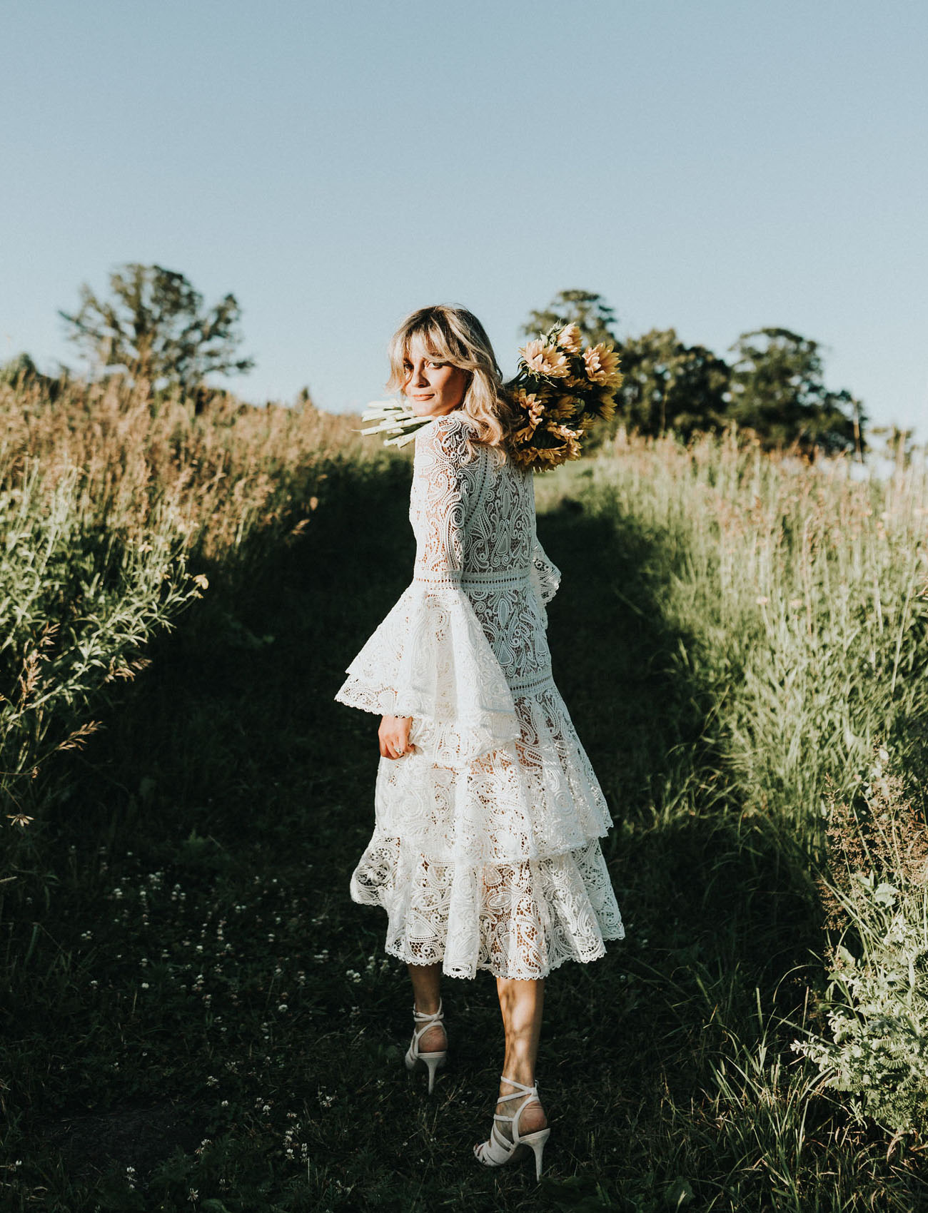 Dreamy Summer Lace Dress Inspiration
