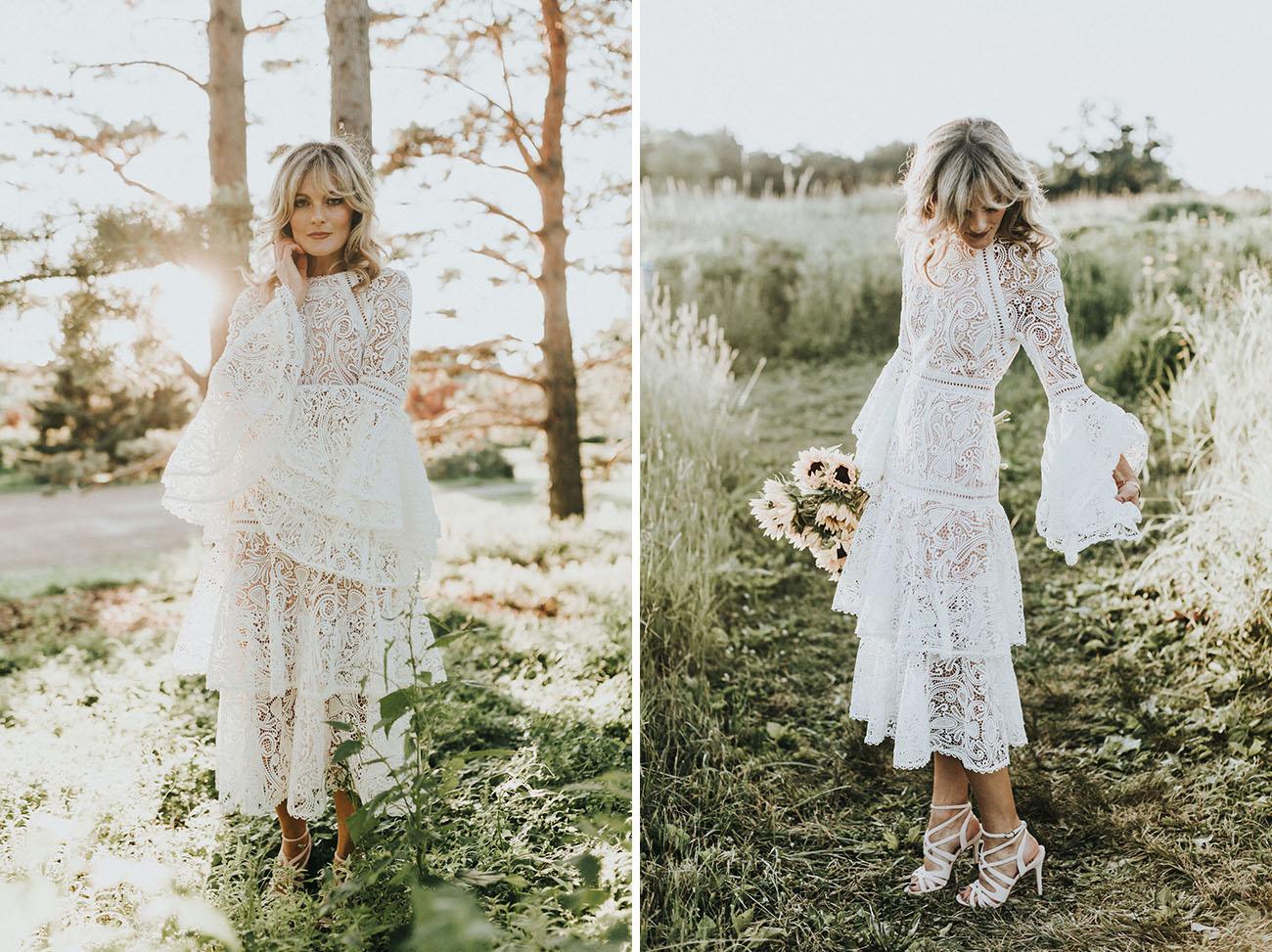 Dreamy Summer Lace Dress Inspiration