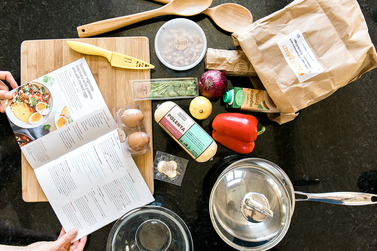 Healthy Cooking with Sun Basket