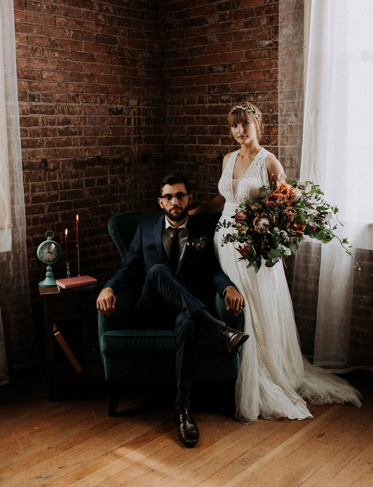 Styled Shoot Turned Surprise Elopement