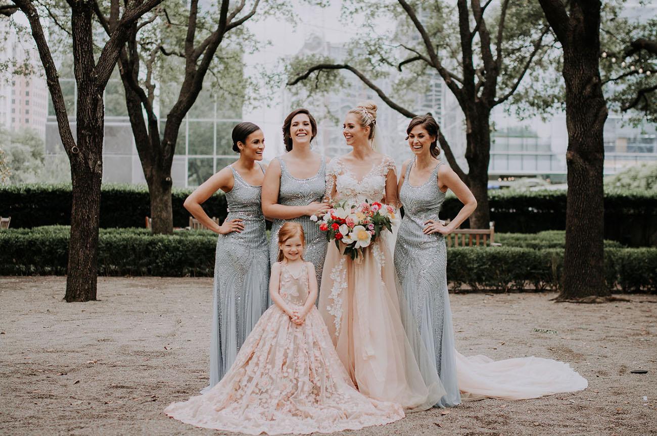 Urban Garden Inspired Wedding