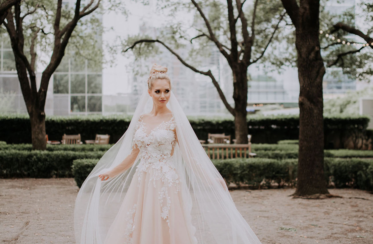 Crystal Designs Wedding Dress