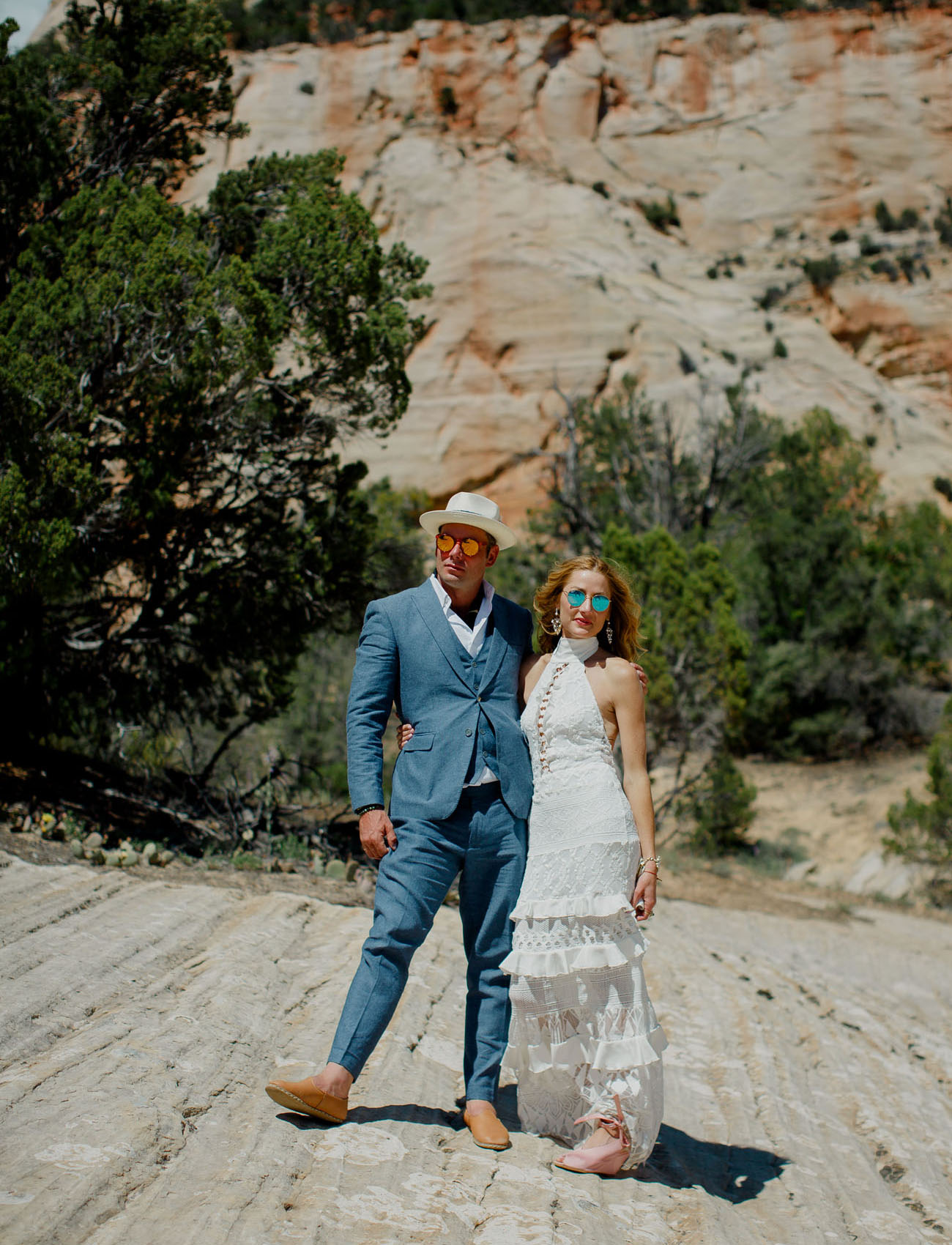 Epic Camp Zion Wedding