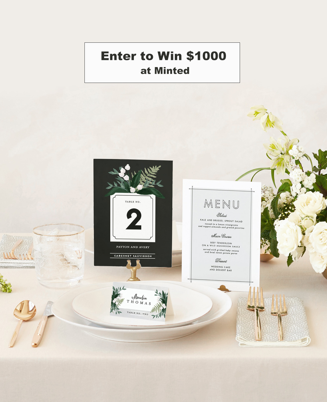 WIn $1000 at MInted