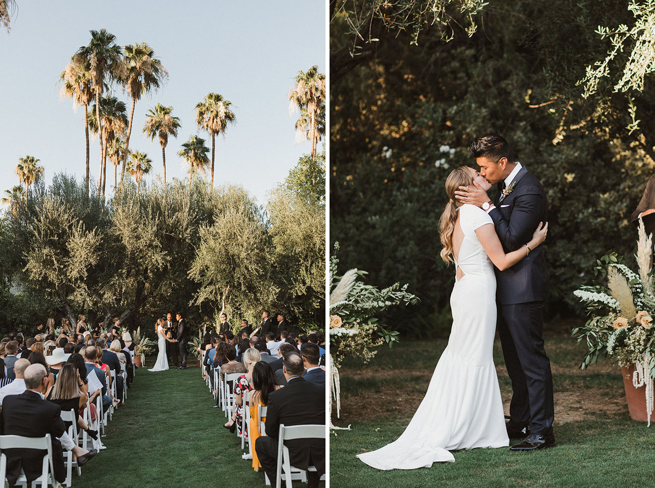 Modern and Timeless Palm Springs Wedding