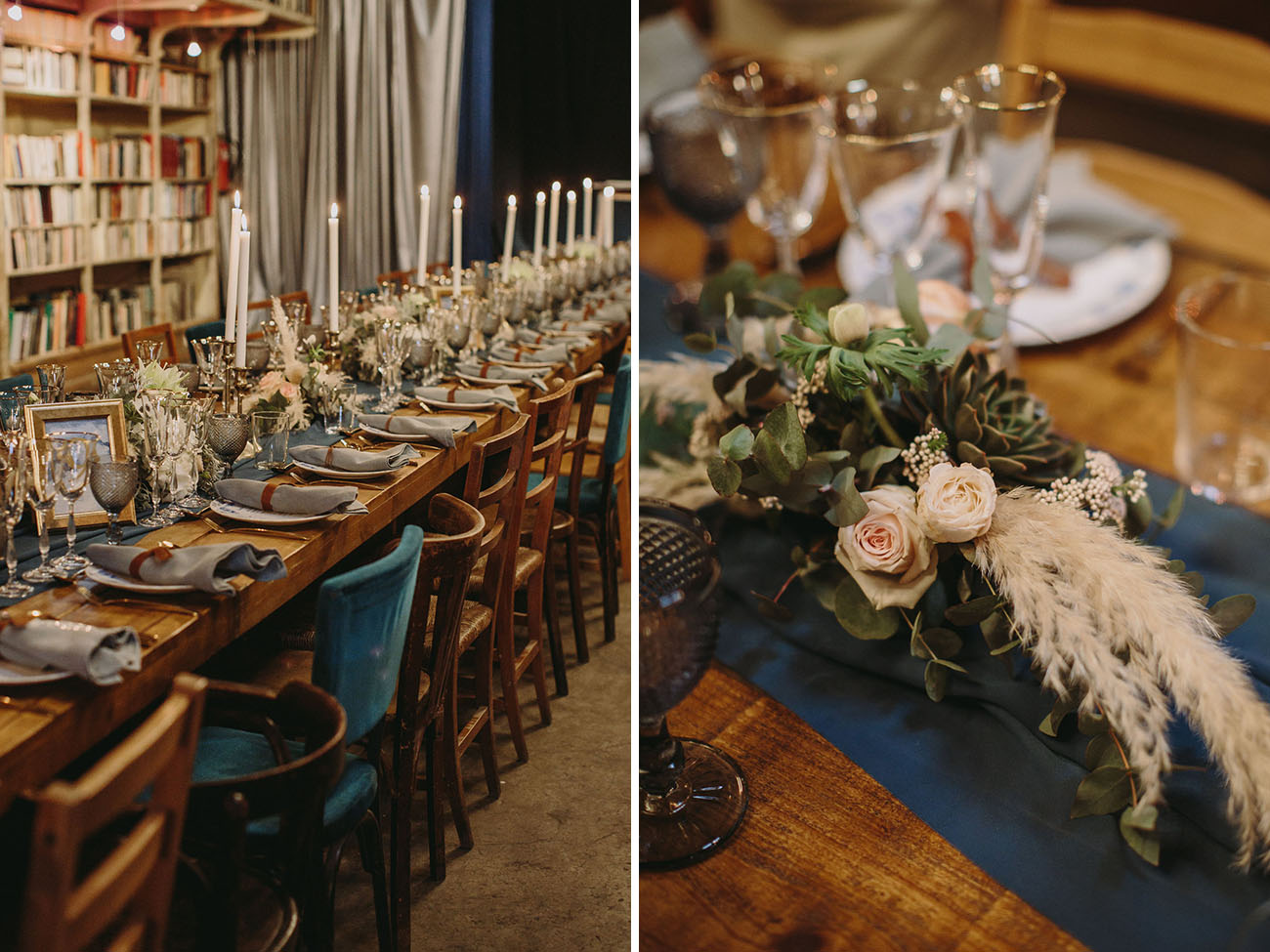 Antique Market Wedding