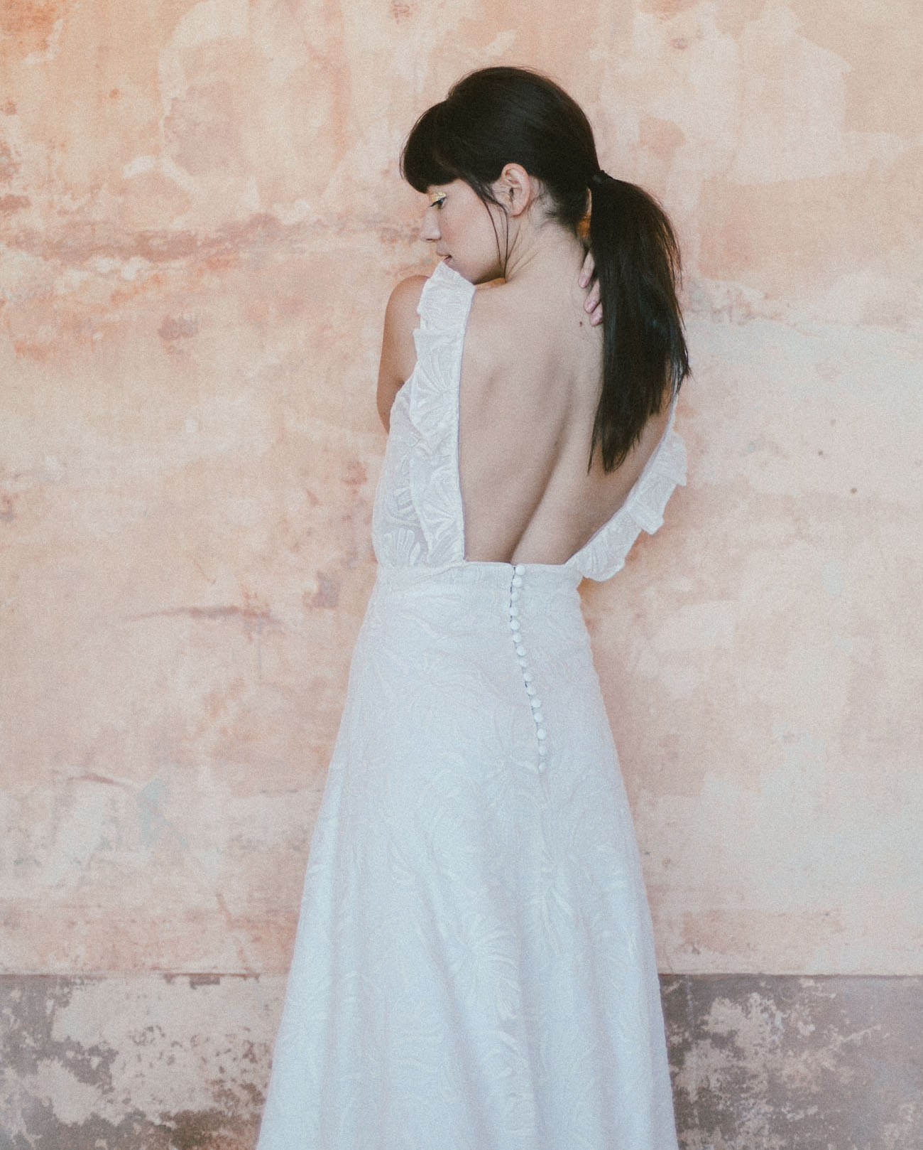 French Wedding Gowns for the Boho Bride by Christina Sfez - Green ...