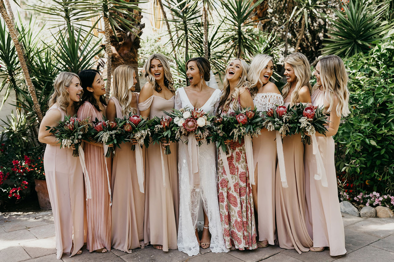Bridesmaids green wedding shoes weddings fashion lifestyle pink bridesmaids ombrellifo Image collections
