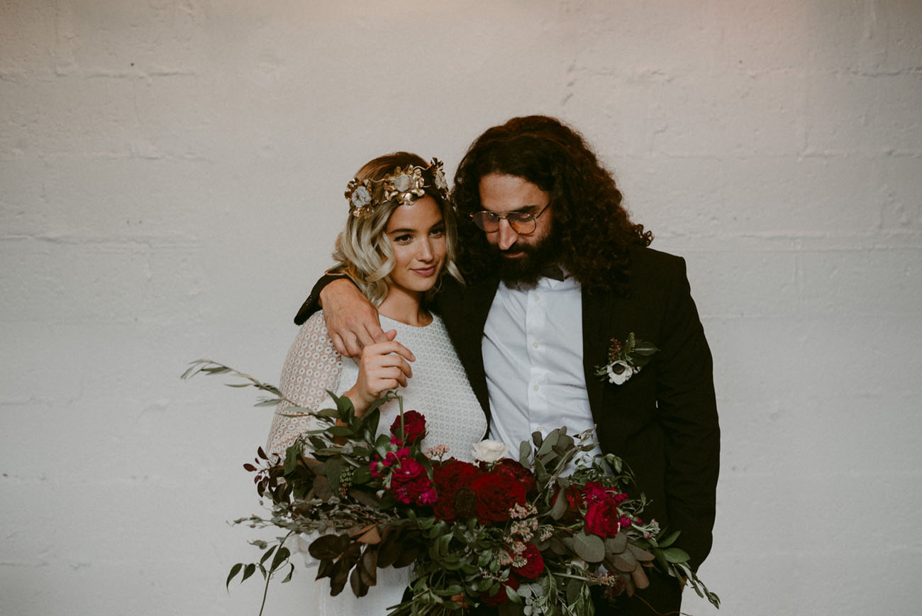 60's Rock Inspired Elopement