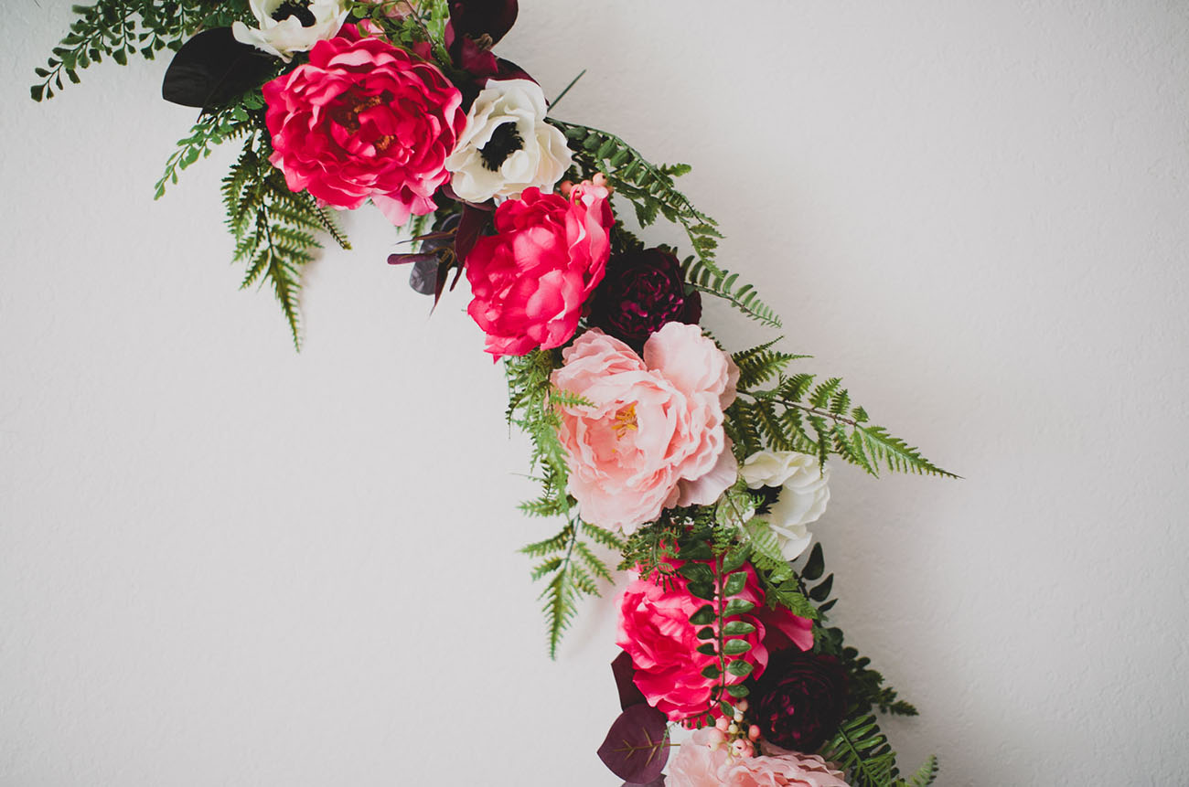 DIY Floral Wreath
