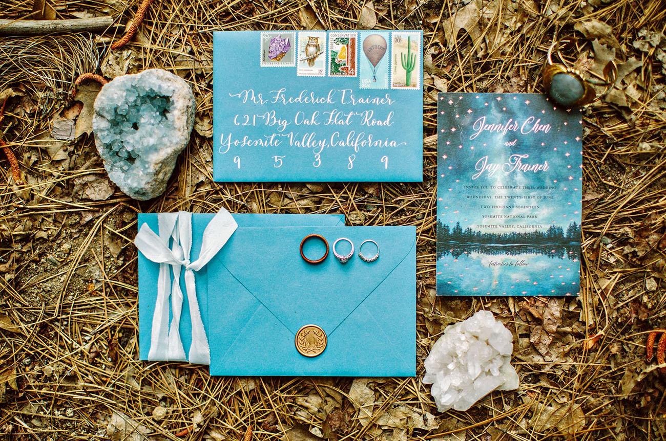 Yosemite Wedding Invitations: An Intimate Morning Wedding At Yosemite
