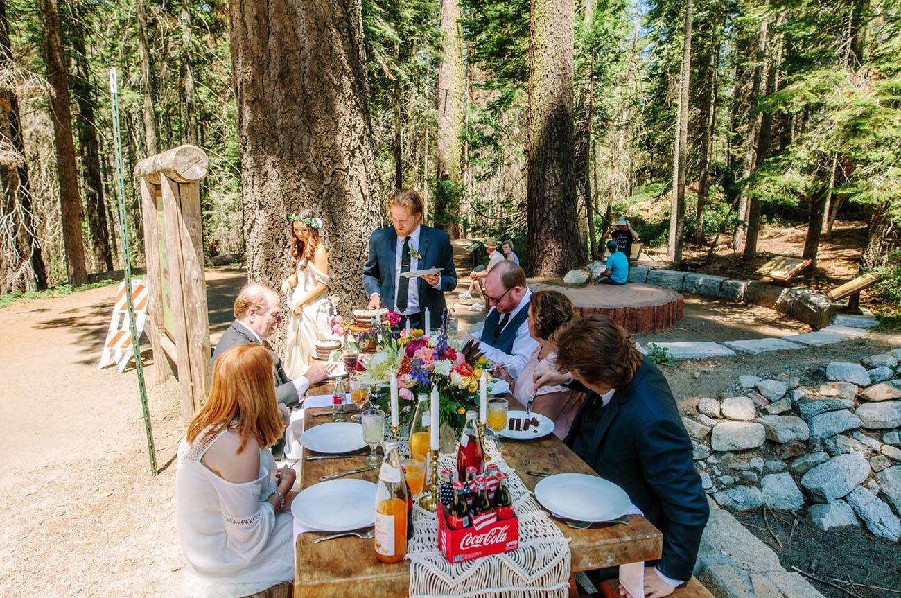 Intimate Yosemite Wedding