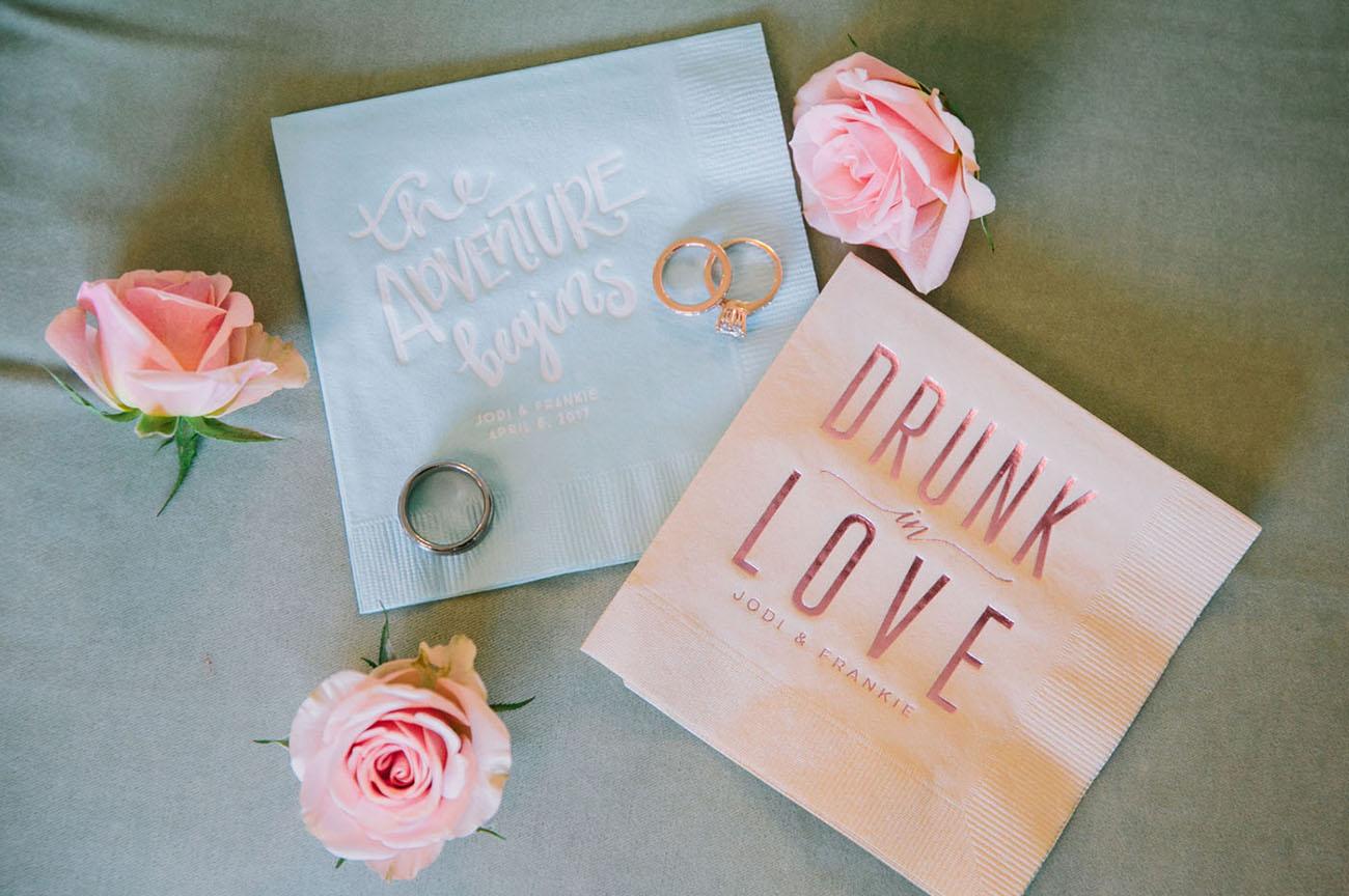 cocktail napkins