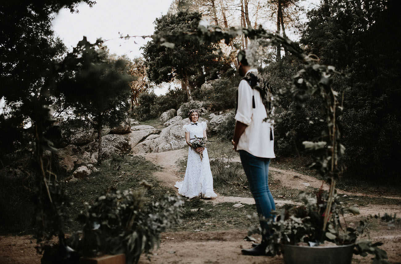 Madrid Elopement in the Woods