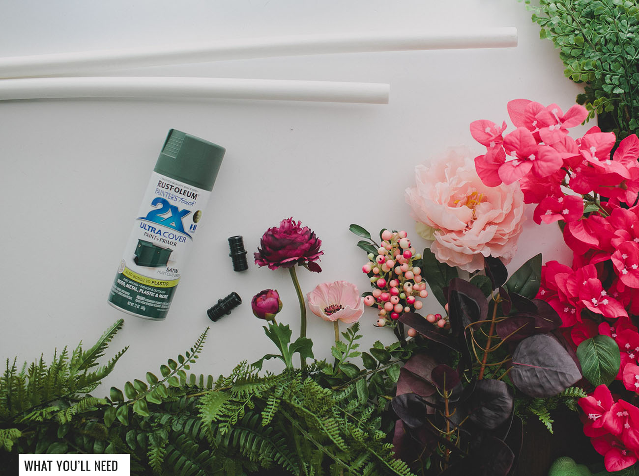 Diy Giant Silk Flower Wreath With Afloral Green Wedding Shoes