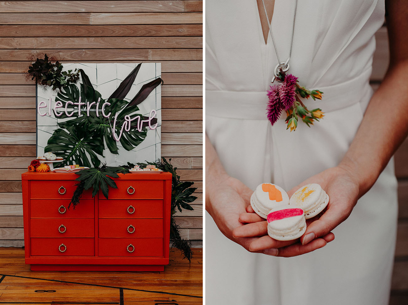 Modern Electric Wedding Inspiration