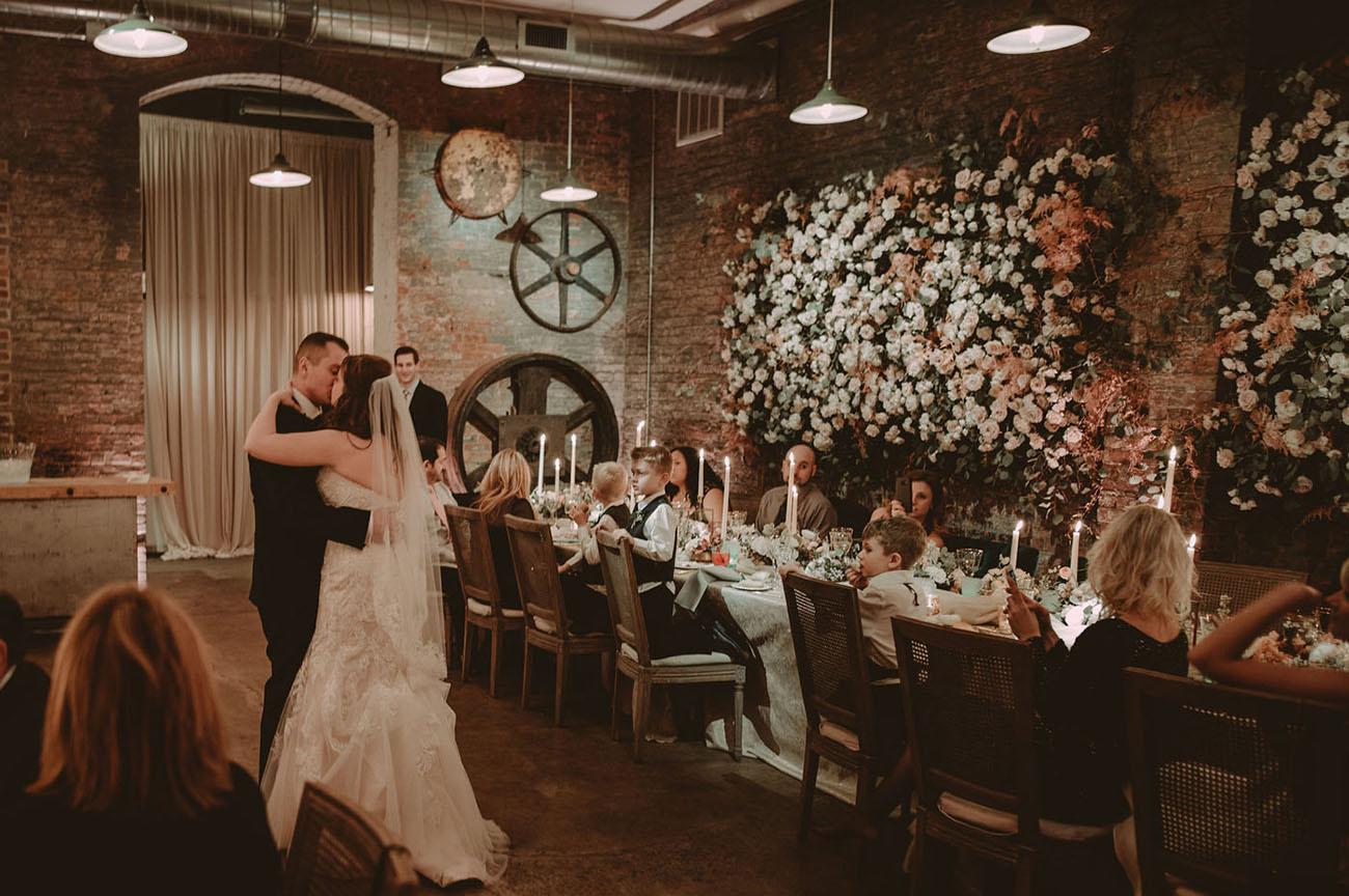 Moonlit Steel Yard Wedding