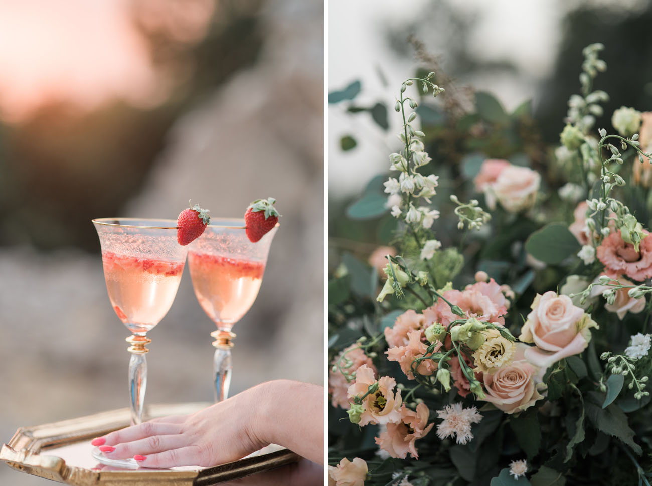 strawberry drinks
