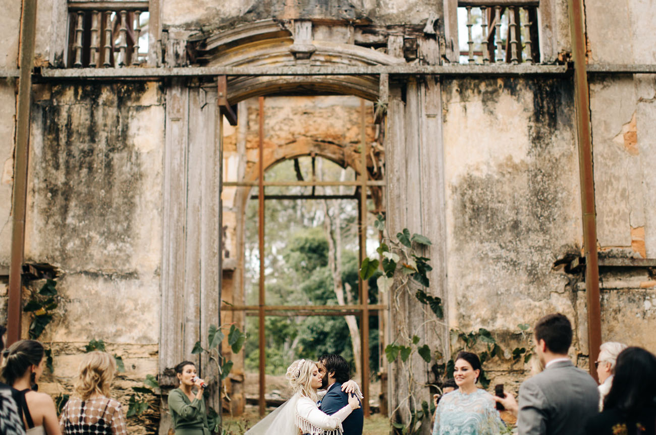 Ruined Church Wedding
