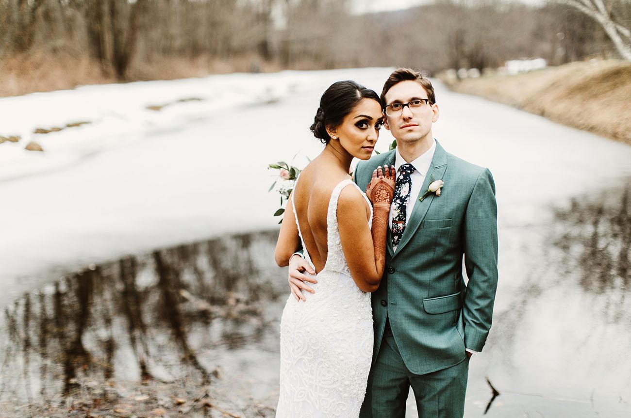 Modern Hipster Indian Wedding