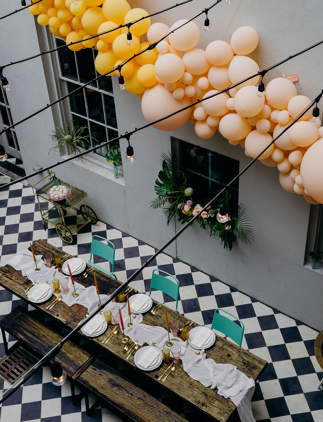 Vibrant Balloon Arch Inspiration