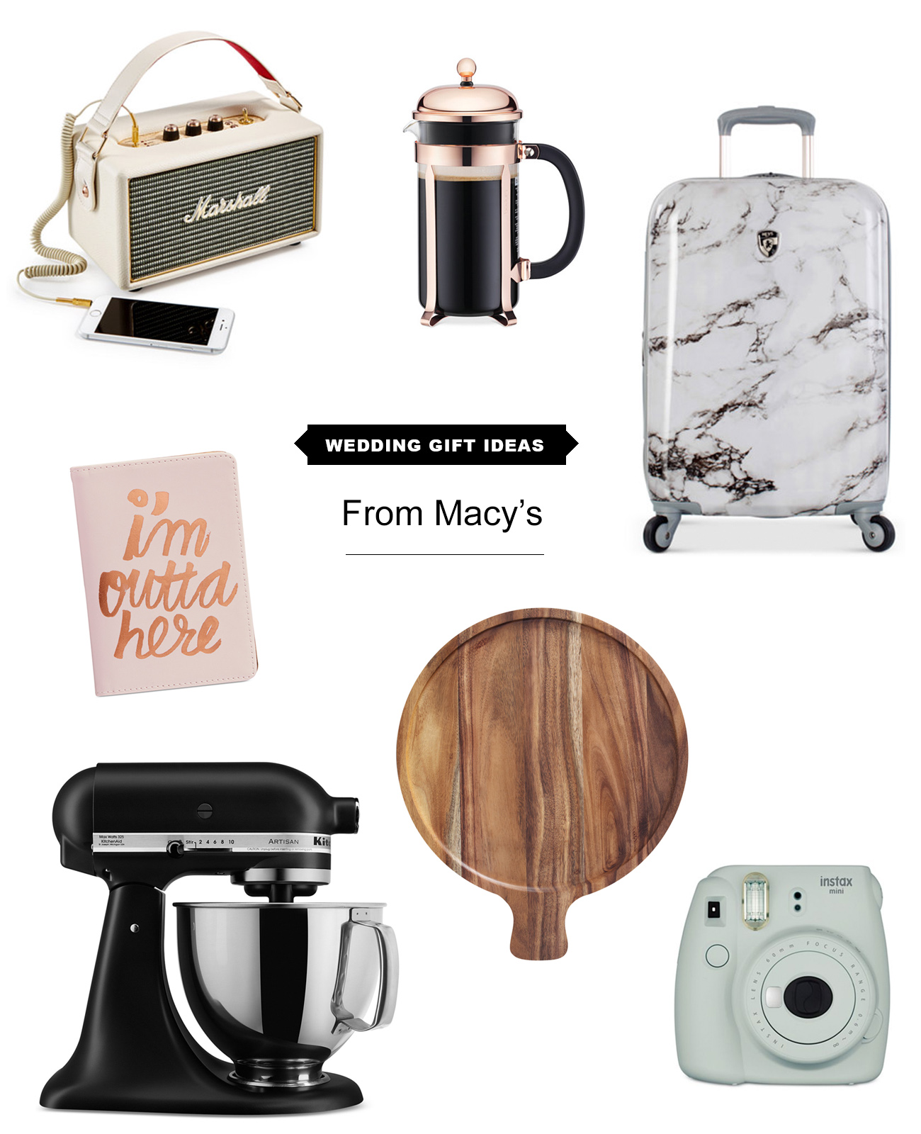 Macy Wedding Gifts: Gift Guide: Finding The Right Wedding Present + Macy's