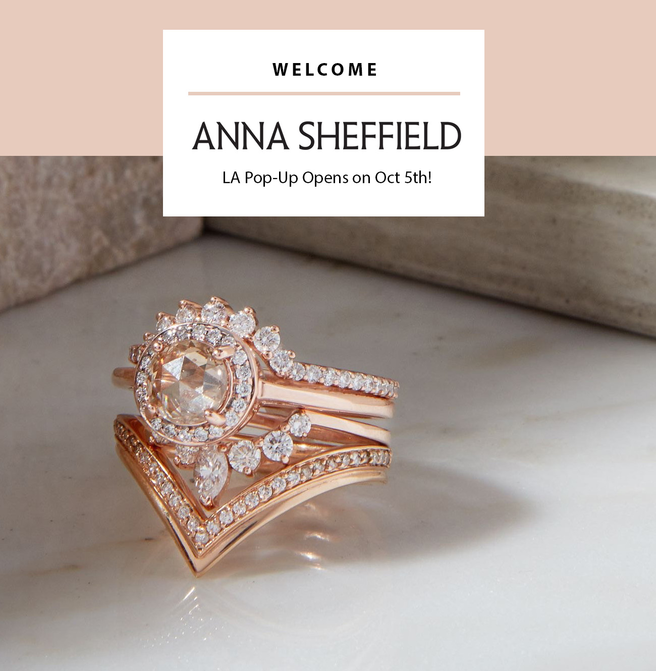 Anna Sheffield LA Pop-Up