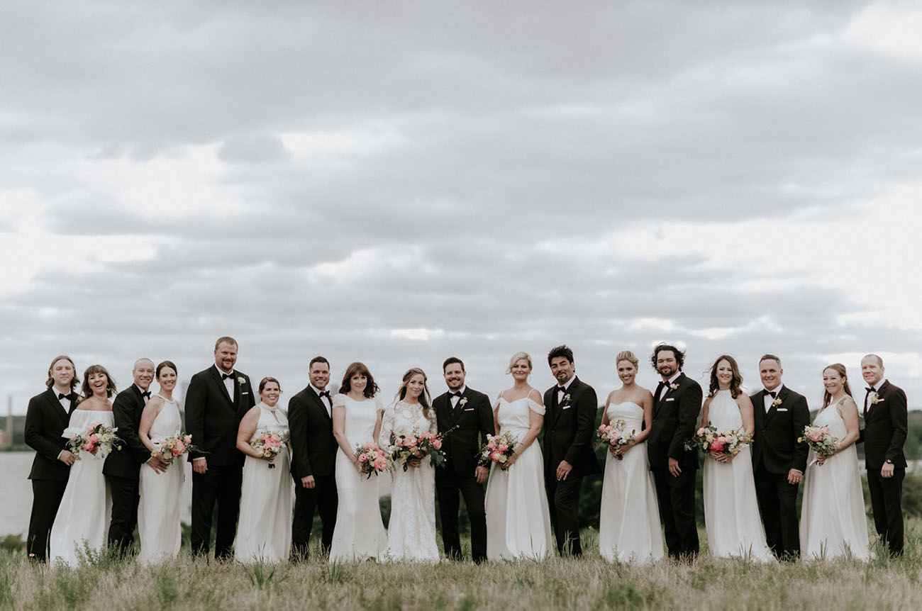 Mid Century Modern Texas Wedding