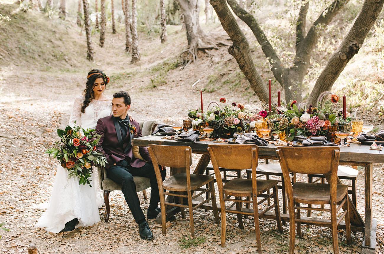Fall Botanics Wedding Inspiration