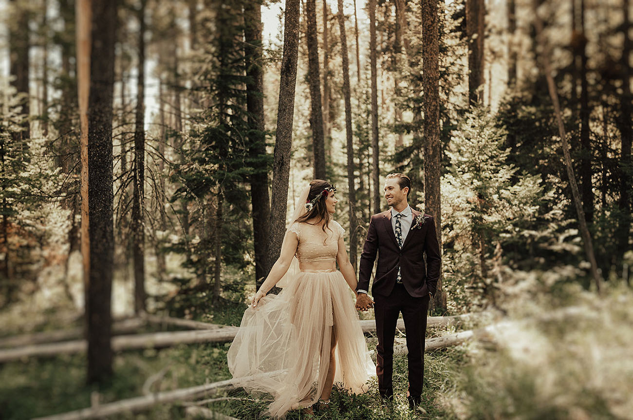 Rustic Tetons Wedding
