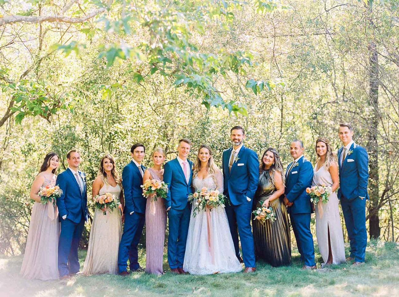 Outdoor Moon & Stars Wedding