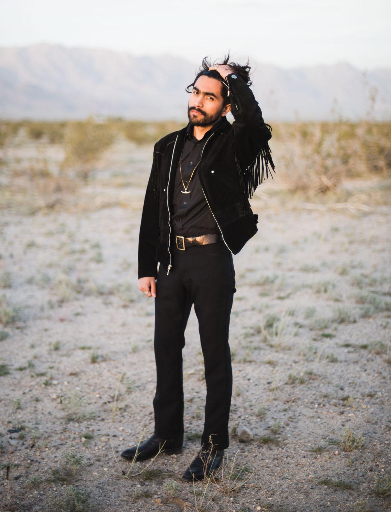 all black groom suit