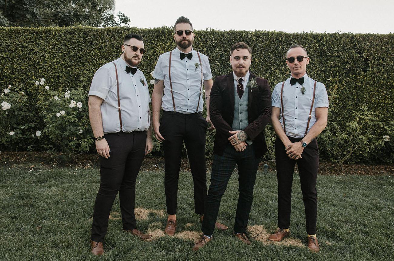 bowtie groomsmen