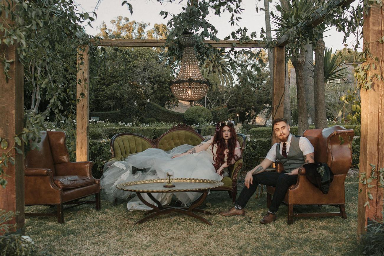 Ethereal Secret Garden Wedding With Vintage Curiousities Best Wedding Reception Venues In Colorado