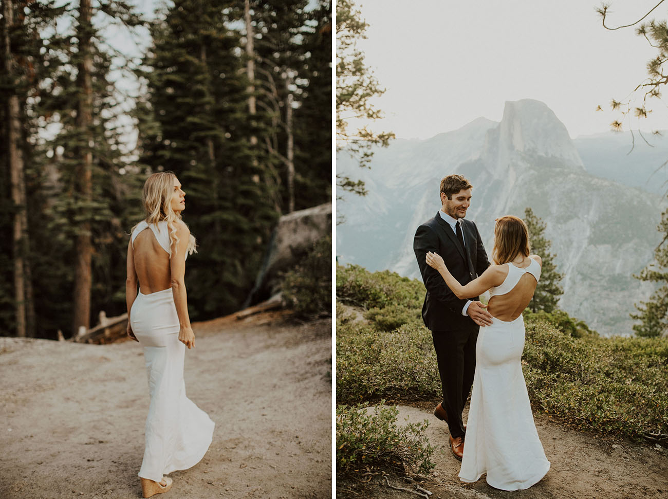 Yosemite Wedding With A Stunning First Look At Glacier