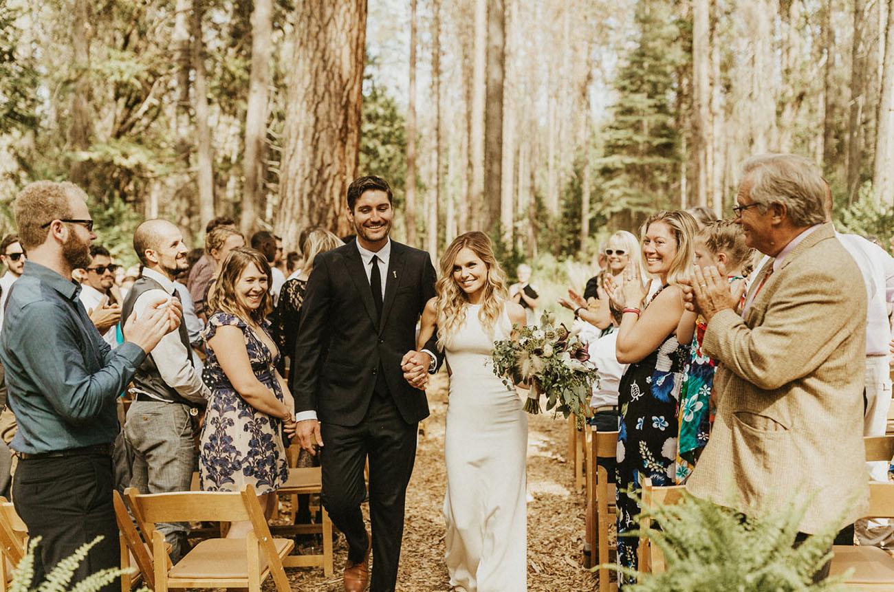 Yosemite Campground Wedding