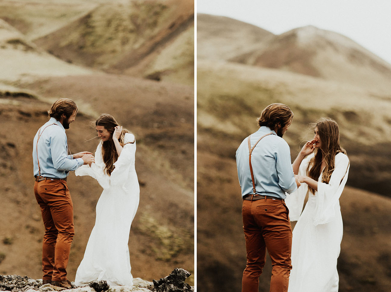 Remote Iceland Vow Renewal