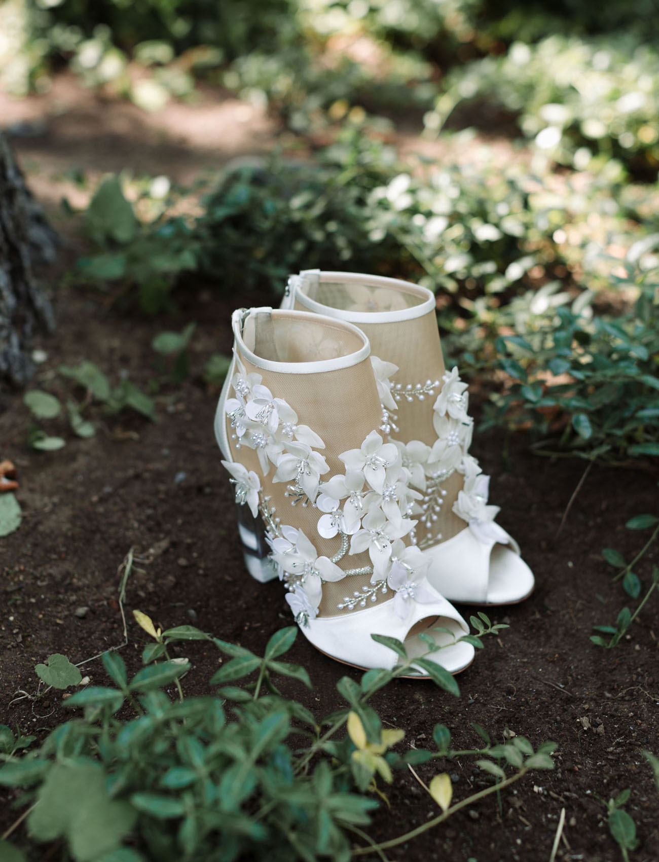 Edward Green Floral Shoes