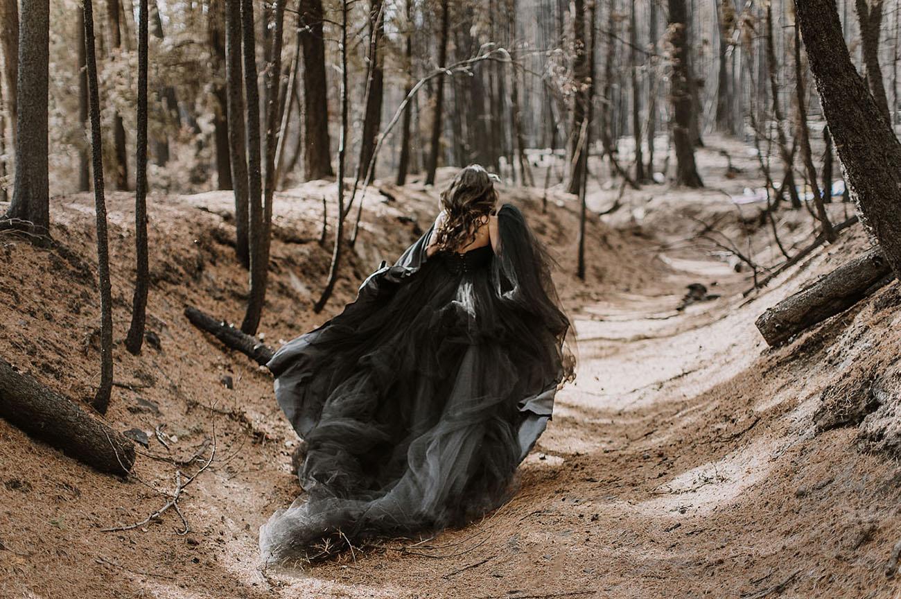 Modern Witch Elopement