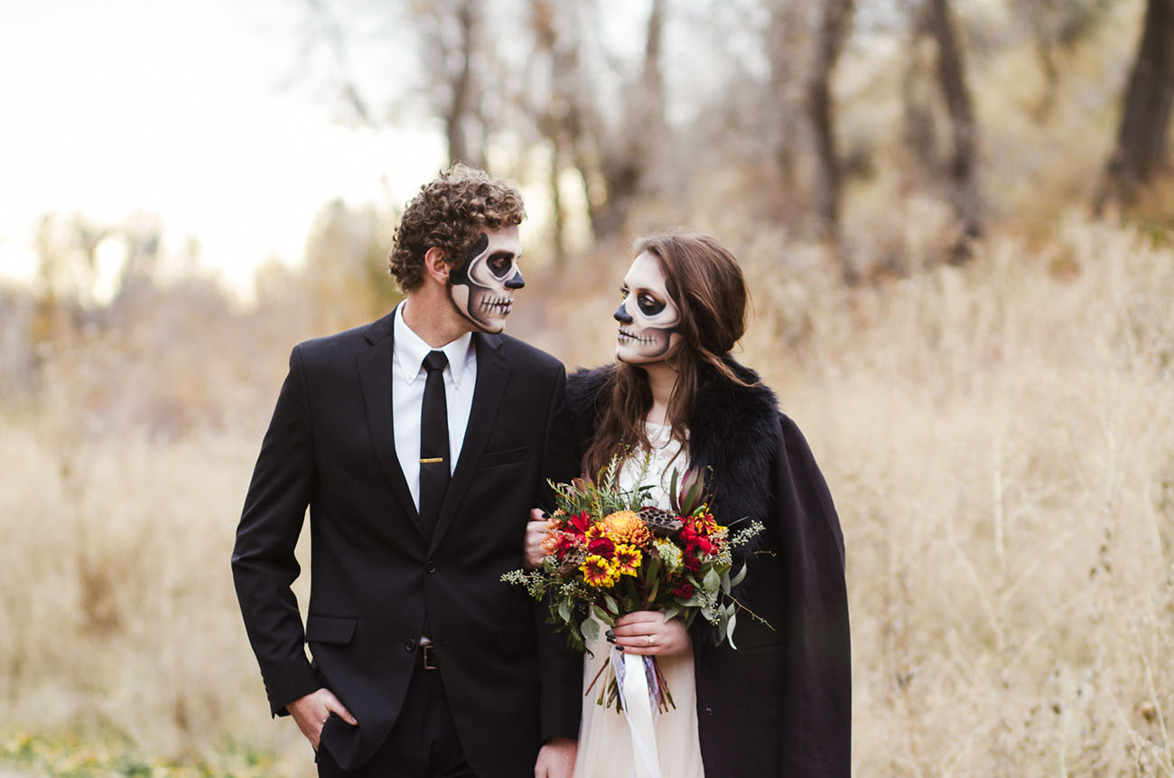 Skeleton Bridal Portraits