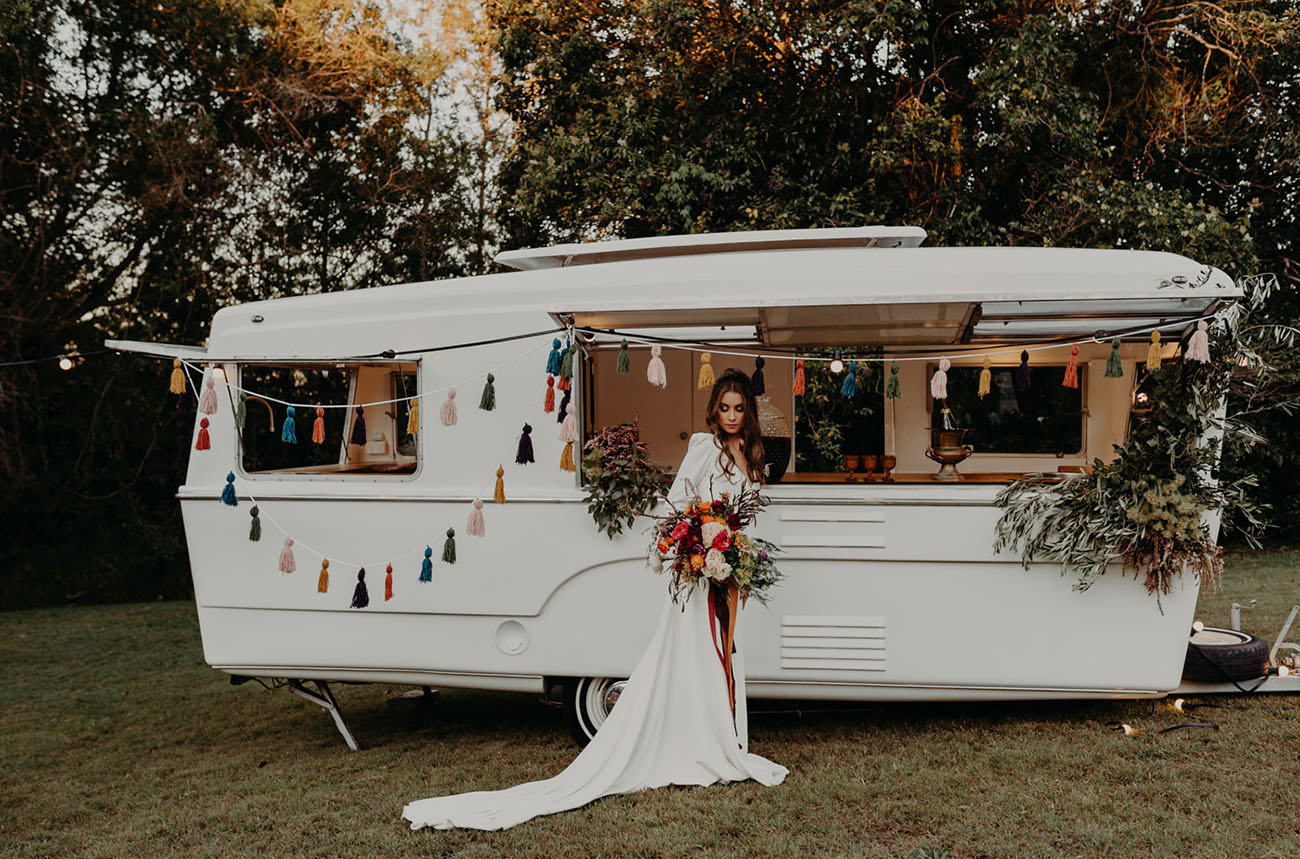 Backyard Yurt Wedding Inspiration