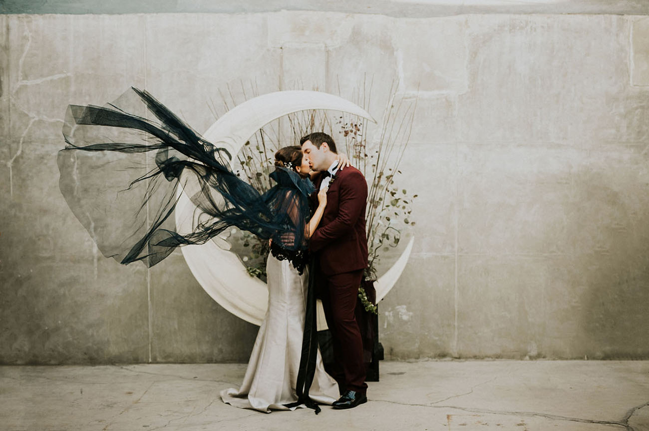 Tim Burton Inspired Wedding